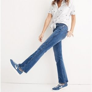 Madewell Jeans - Madewell Perfect Flare Jeans Rigid Denim 23